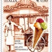 Il francobollo del gelato artigianale