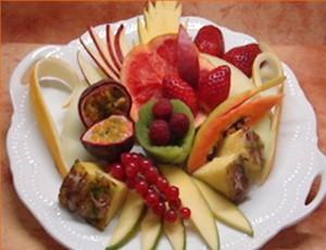 Piatto frutta fresca